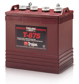 new trojan 8 volt 8v 8 v golf cart batteries battery club