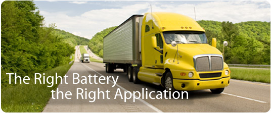Trojan batteries for heavy duty commercial trucks