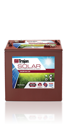 Trojan Battery Solar AGM 06 220 Image